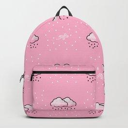Cloud_Wind_Rain Pattern 01 Backpack