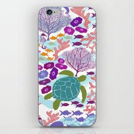 Rush Hour at the Reef - Ocean Life - Sea Life - Marine - beach  iPhone Skin