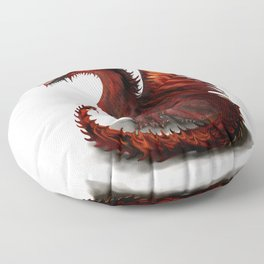 Challenger Lone Dragon Abstract Floor Pillow