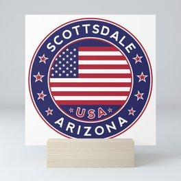 Scottsdale, Arizona Mini Art Print