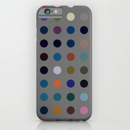 Kokopelli - Colorful Abstract Dots Art iPhone Case