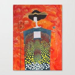 Sun Geisha Canvas Print