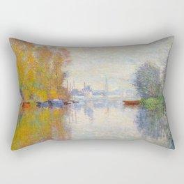Autumn On The Seine Argenteuil Rectangular Pillow