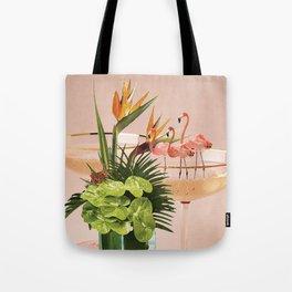 Flamingo Cocktail Umhängetasche