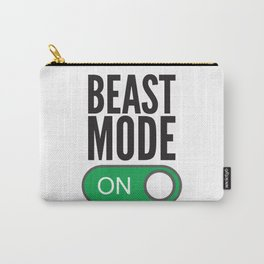 BEAST MODE ON Carry-All Pouch