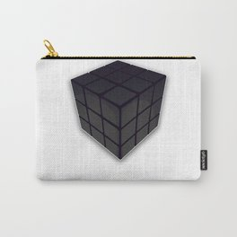 Black Rubik's Cube Carry-All Pouch