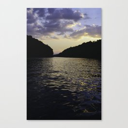 Real Life Painting Canvas Print