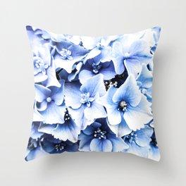 Holy Hydrangea IV Throw Pillow