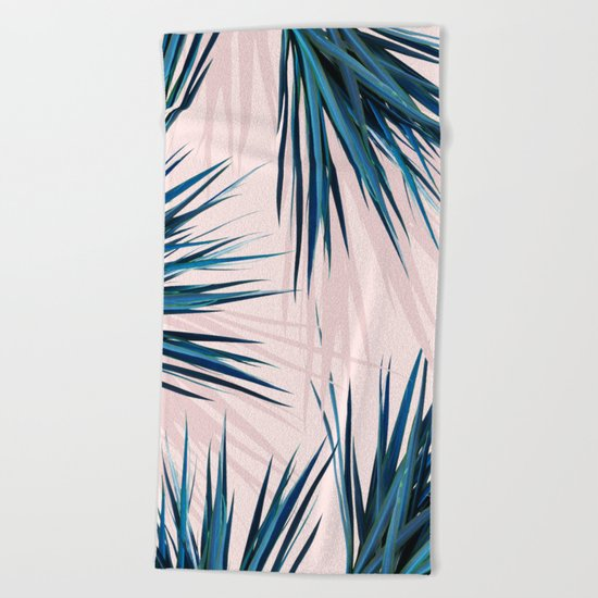 Pointy Palm #society6 #decor #buyart Beach Towel