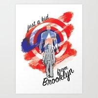 Just a Kid from Brooklyn Art Print
