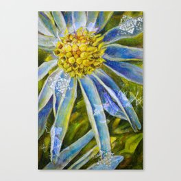 L'astre bleu Canvas Print