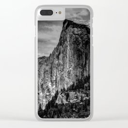Half Dome Chrome Clear iPhone Case