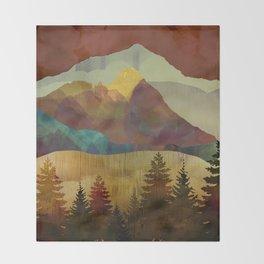 Autumn Sky Throw Blanket