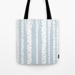 Minimalist Birch Trees by Amanda Laurel Atkins Tote Bag