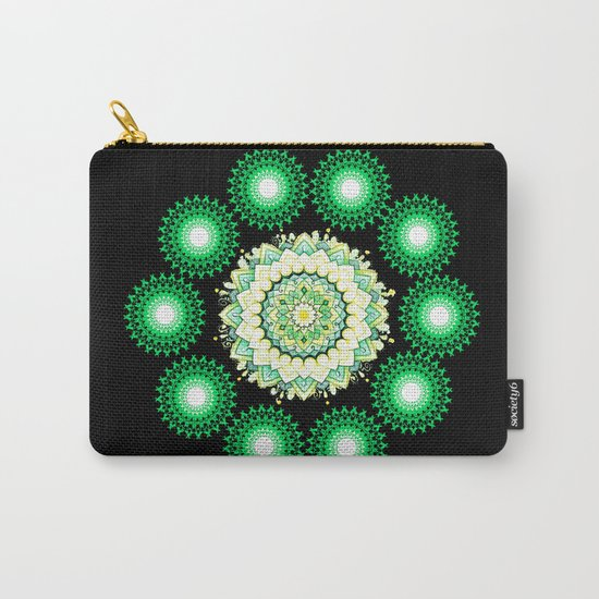 Anahata Flower in the Night Carry-All Pouch