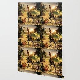 Tyrannosaurus skeleton Wallpaper