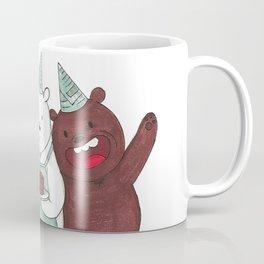 We Bare Bears inspired Birthday Party - Panda, Ice Bear, Grizzly Bear Coffee Mug