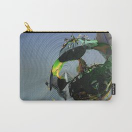 Mysterious Flying Vehicle Landing Carry-All Pouch