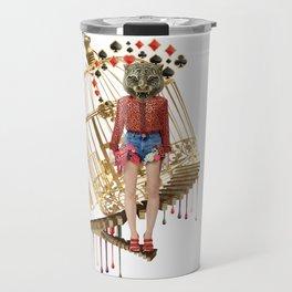 Golden Cage by Lenka Laskoradova Travel Mug