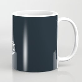 Business Industry Labor in White with Gears Coffee Mug