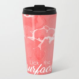 Lick The Surface Metal Travel Mug