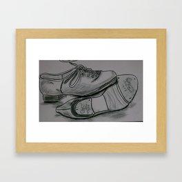Tap Shoes Framed Art Print