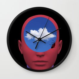 ALIEN DREAMS 02 Wall Clock