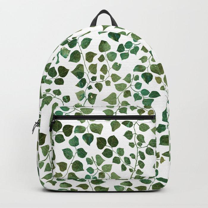 Green Shrub Backpack