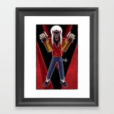 Thriller Time Framed Art Print