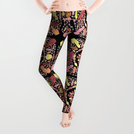 Crystal Bandana Warm Leggings