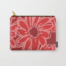 Big Red, Red Flowers Carry-All Pouch