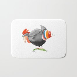 Hen and Egg Story Bath Mat