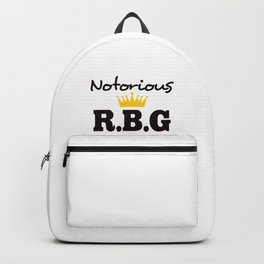 Notorious R.B.G Backpack