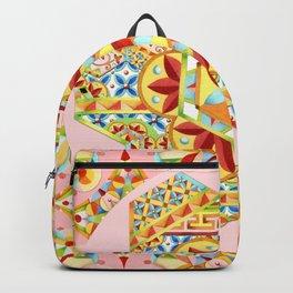 Pink Polka Dot Gypsy Caravan Backpack