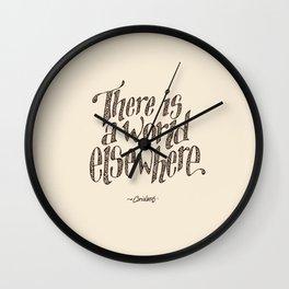 I turn my back. Wall Clock