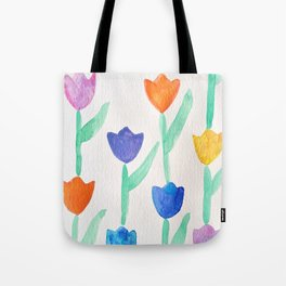 -happy tulips- Tote Bag