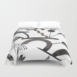 Abstract Botanica - 1 Duvet Cover