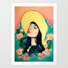 Summer grows up Art Print