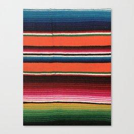 BEAUTIFUL MEXICAN SERAPE Canvas Print