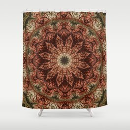 Visions of a Dahlia  Shower Curtain