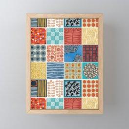 little boxes Framed Mini Art Print