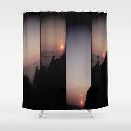 Acapulco sunset Shower Curtain