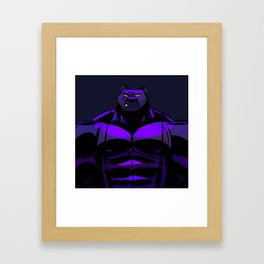 Killer Panther Wrestler! Framed Art Print