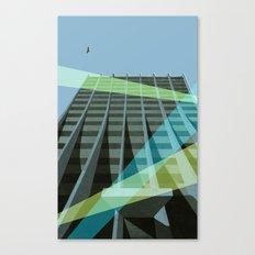 Uno Prii Apartment Building Canvas Print