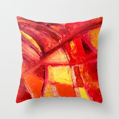 Dance frozen in time Throw Pillow