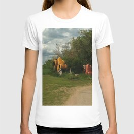fun in the ground T-shirt