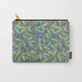 Leaves and Branches in Weaving Tangle Carry-All Pouch