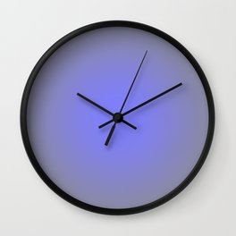 Periwinkle Gray Focal Point Wall Clock