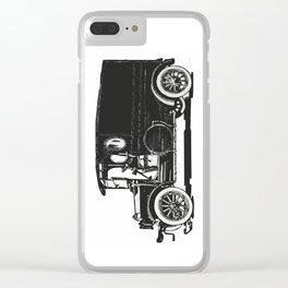 Old car 7 Clear iPhone Case