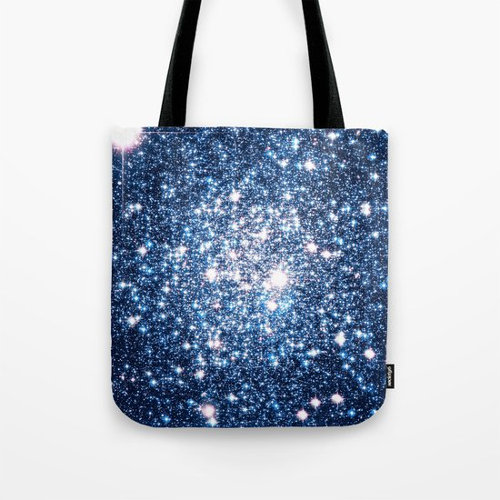 Galaxy Stars: Riverside Blue Tote Bag